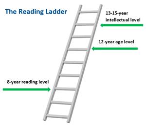 Reading Ladder labelled 2